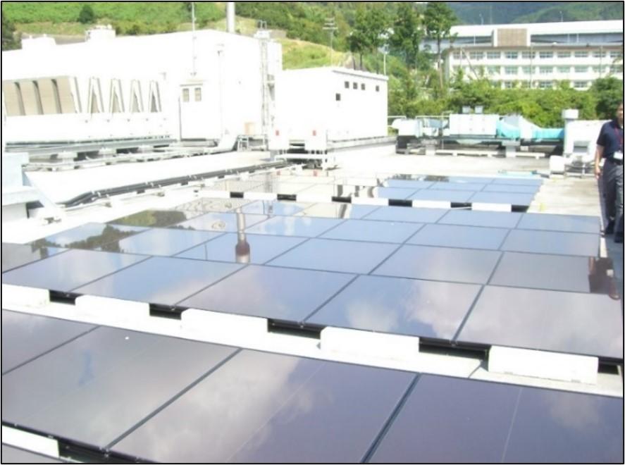工場屋上(自家消費太陽光発電)