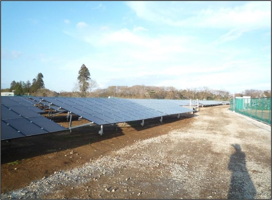 千葉県八街市太陽光発電所