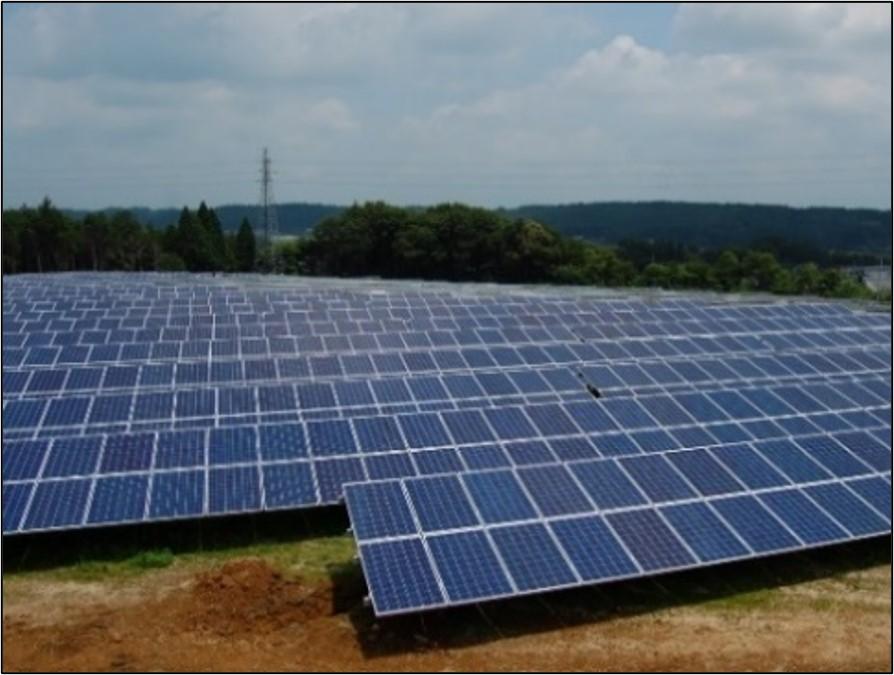 栃木県さくら太陽光発電所