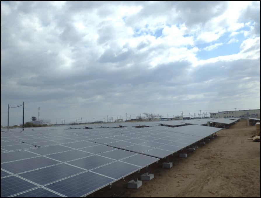 名取太陽光発電所