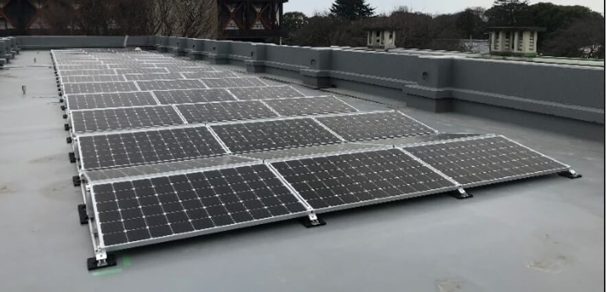 施設屋上(自家消費太陽光発電)