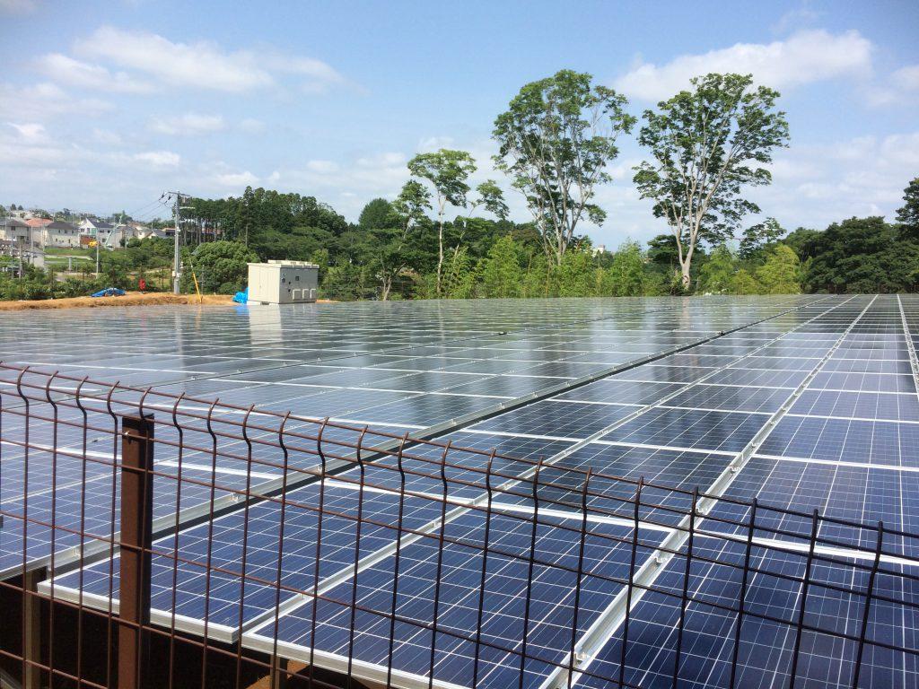 千葉県千葉市太陽光発電所