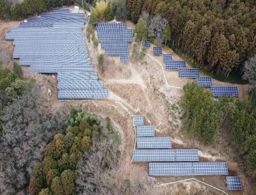 茨城県太陽光発電所