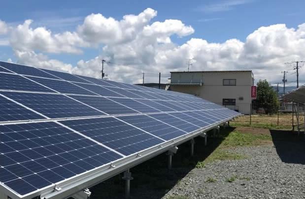 岩手県奥州市D太陽光発電所