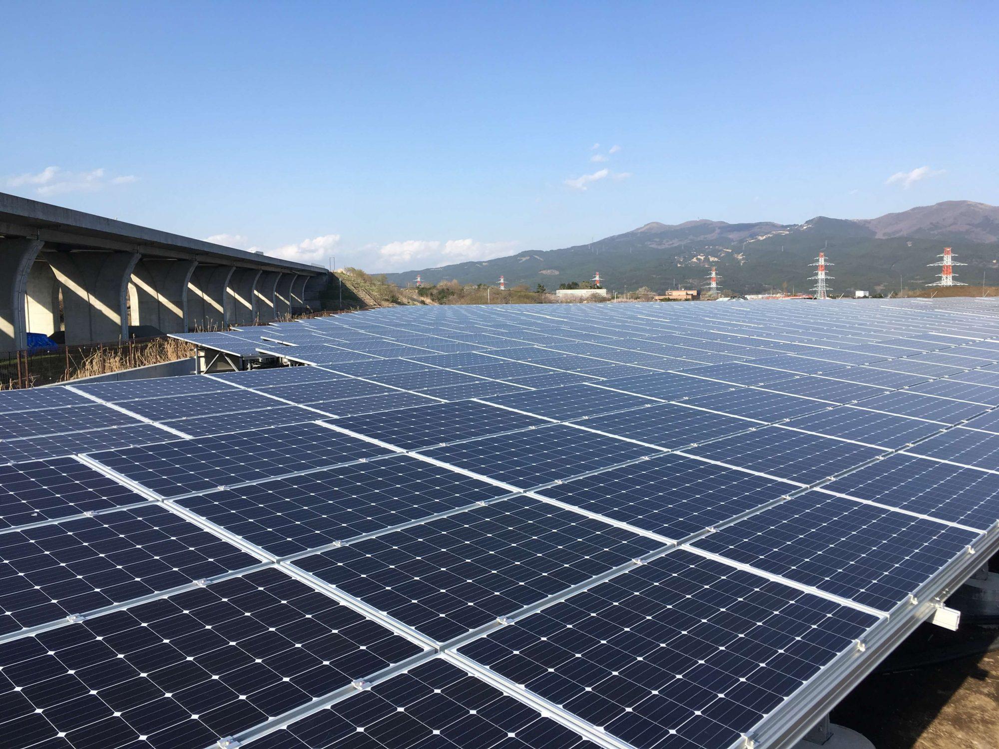 静岡県御殿場A太陽光発電所