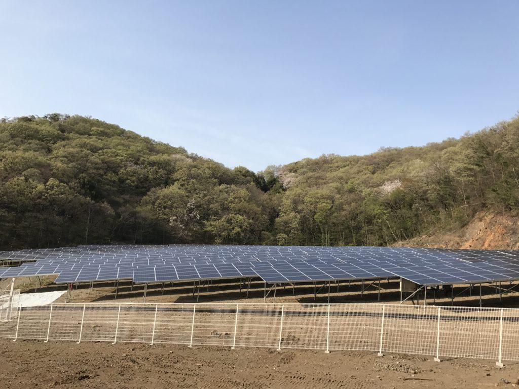栃木県佐野太陽光発電所