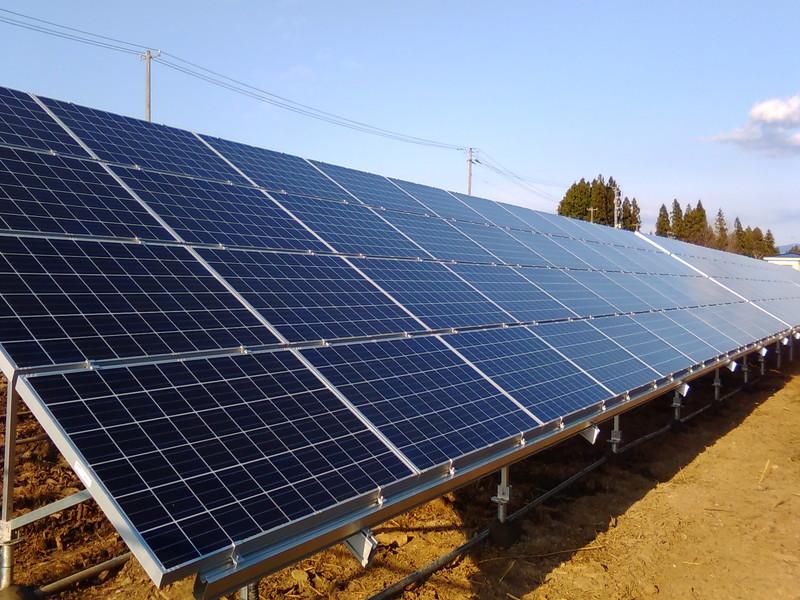 奥州市C太陽光発電所