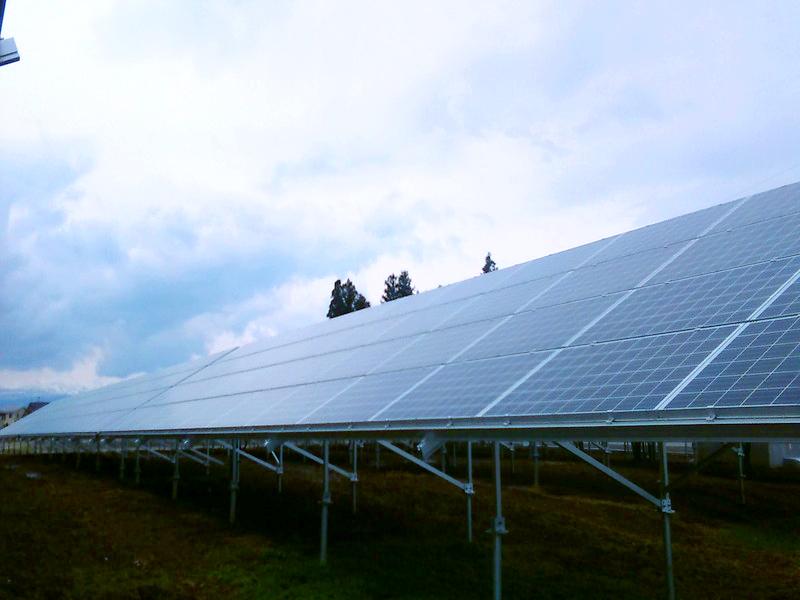 奥州市A太陽光発電所
