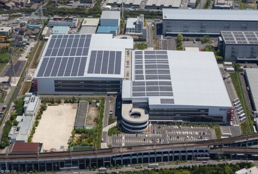アジアの物流不動産のリーディングカンパニーESRの物流施設「ESR市川ディストリビューションセンター」にてPPA事業(電力特定契約)を開始しました